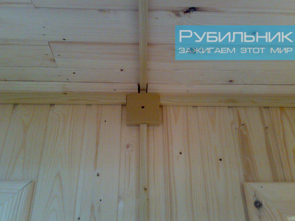 Поменять проводку в деревянном доме
