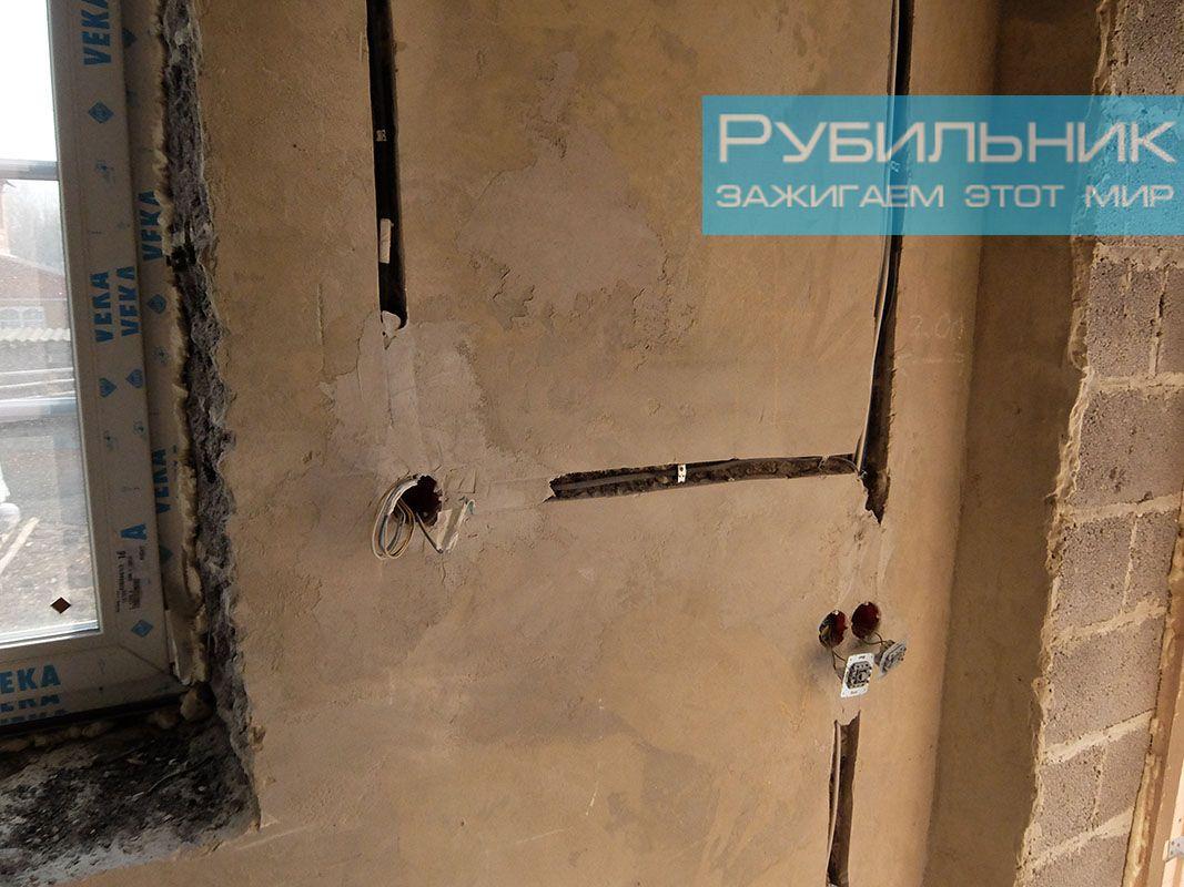 Замена электропроводки  в панельном доме 37
