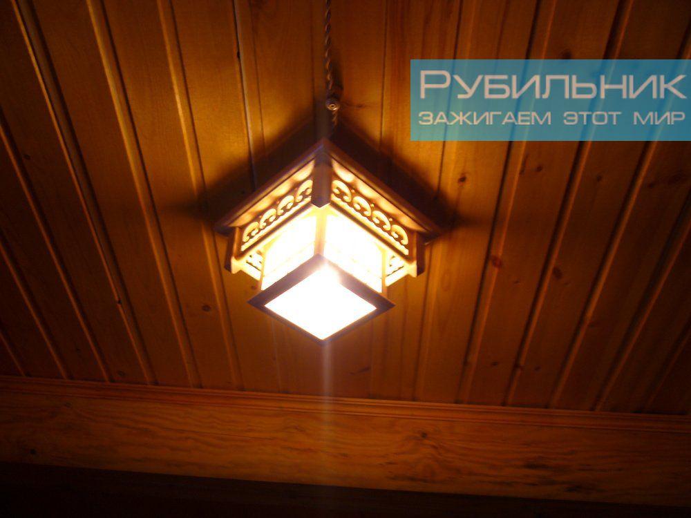 Электромонтажные работы а в деревянном доме с использованием коробов «под старину»